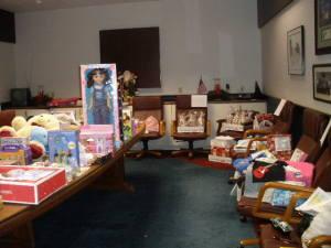 Children's charity, gift donations